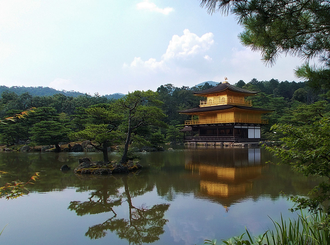 Kinkakuji Kyoto by SheltieWolf
