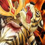 Wolf, Tiger