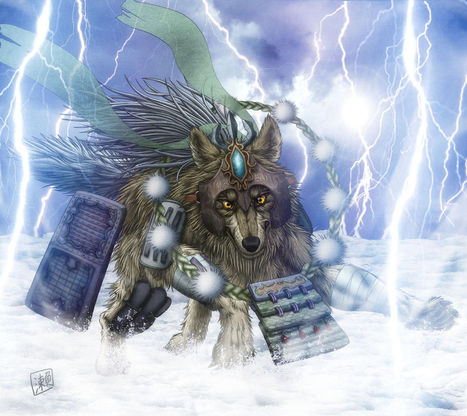 Thunder Wolf by SheltieWolf
