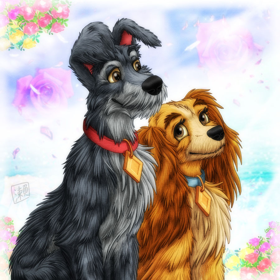 Disney's Couple by SheltieWolf