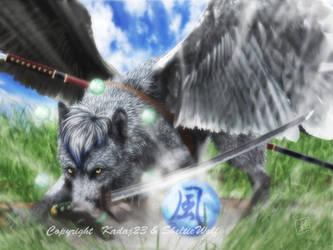 Wind Wolf by SheltieWolf