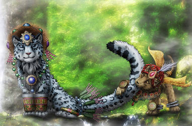 Big Cats by SheltieWolf