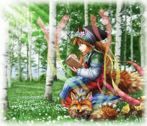 Forest Lady by SheltieWolf