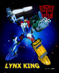 Autobot Lynx King (Sky Reign) by DriftsEdge