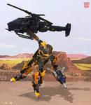 Bumblebee Flight by DriftsEdge