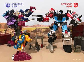 Abominus vs Defensor by DriftsEdge