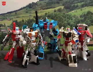 Combine Warriors Protectobots by DriftsEdge