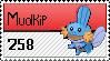 Mudkip Stamp by killerZoe