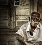 one man at door III