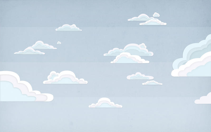 Retro Clouds by Davinness