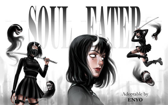 [CLOSED] ADOPT AUCTION #22 Soul eater