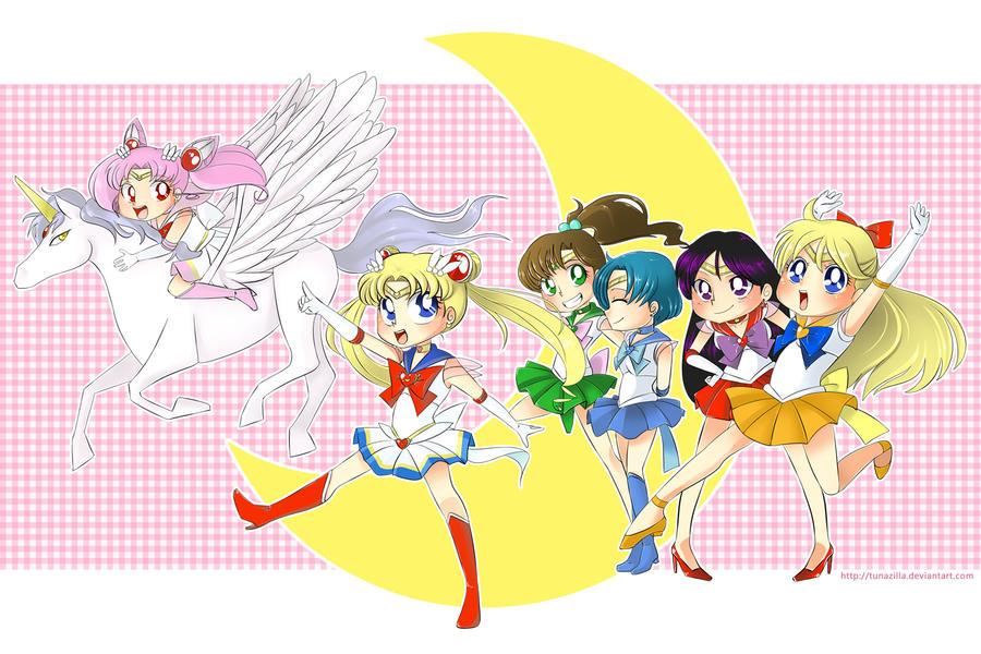 Sailor Moon by Tunazilla