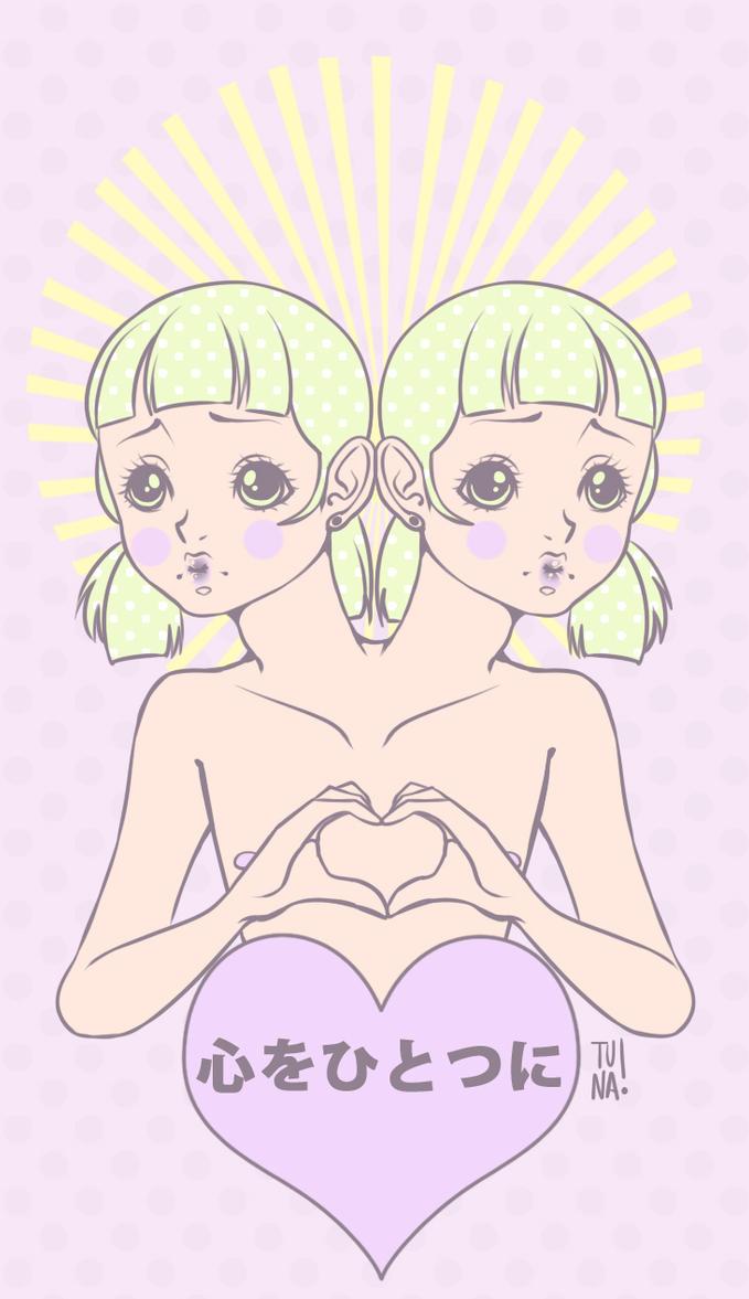 One heart. by Tunazilla