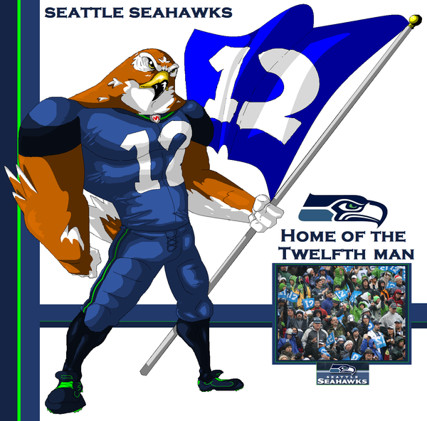 Seattle Seahawks by NateBlue