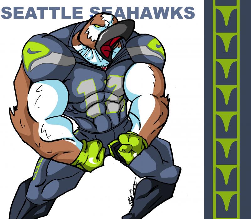seahawk by nateblue on deviantart