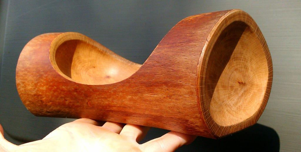 Beech log bowl by khaoist