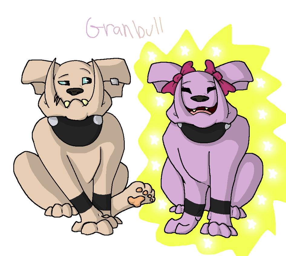 Granbull by YoshiTheWolf