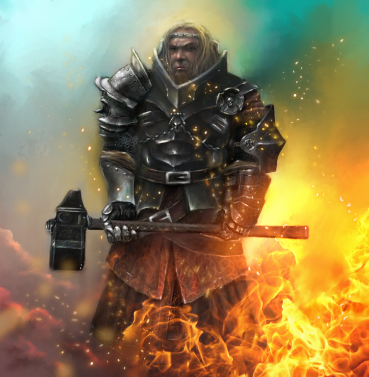 Adalhard - Priest of Sigmar by cocco91