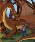 Amanda and the Dragon by Nomati