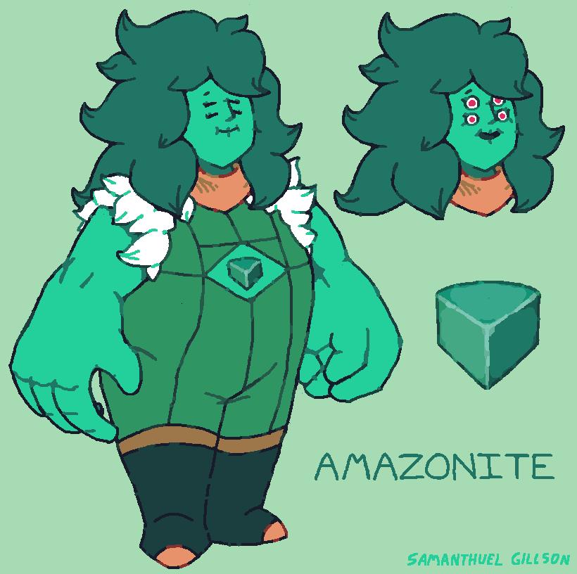 Amazonite by brotoad