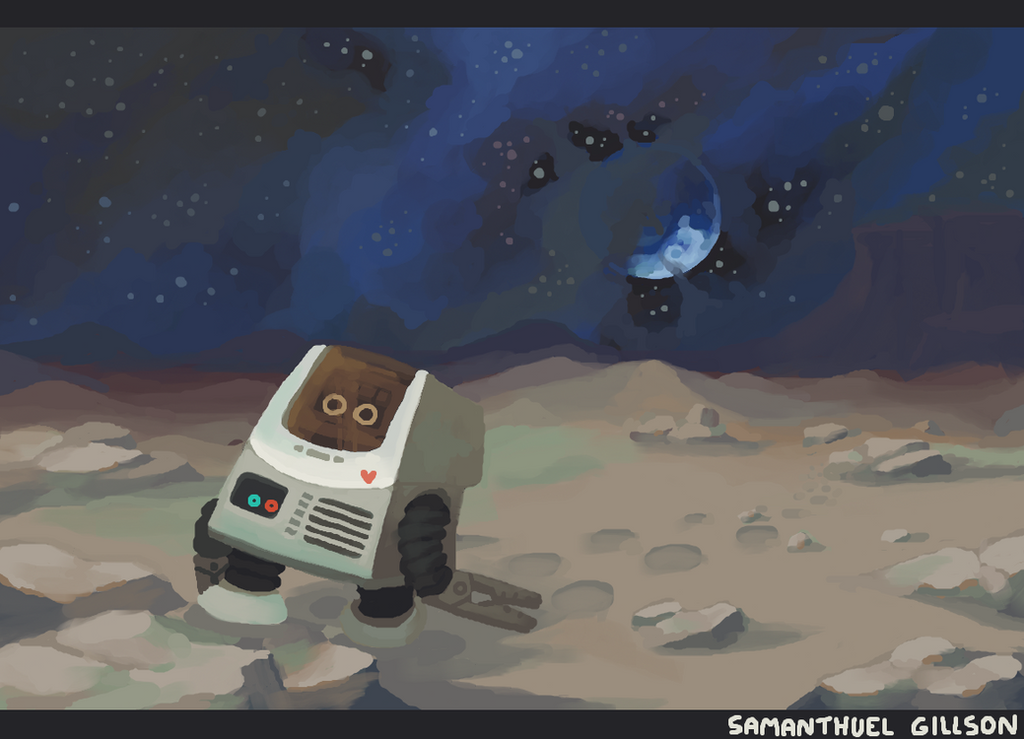 Traveling Robot by brotoad