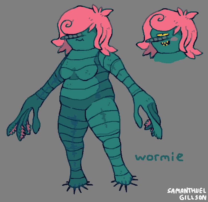 Wormie by brotoad