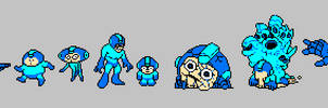 Mega Man by splendidland