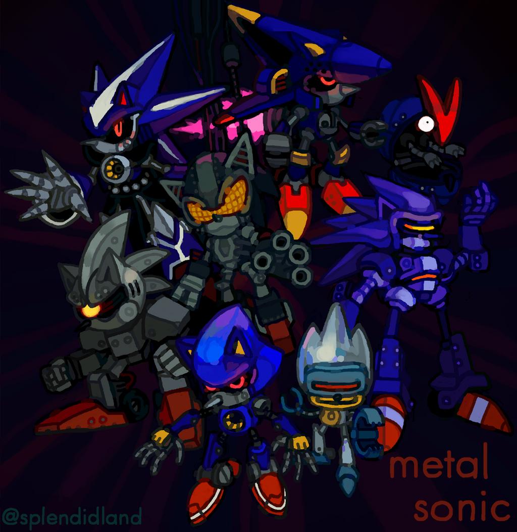 Metal Sonic By Splendidland On DeviantArt