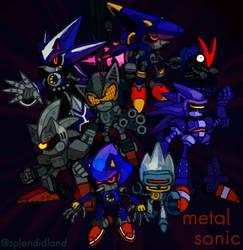 Metal Sonic by splendidland