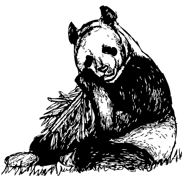 panda by Ricven-Hawklight