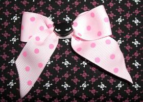 cUtE Cat hAiR-bOw pink kItsCh by LunaticDolls