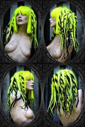 aTomiC DreAd wiG steAmPunK by LunaticDolls