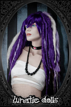 custom wig work: puffy Dreads