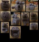 Blu tac emotes by Kanea2