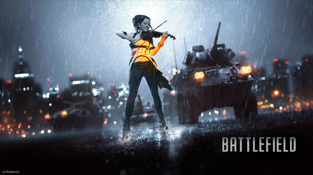 Lindsey Stirling Battlefield 4 Cover Font by BlubberArts on DeviantArt