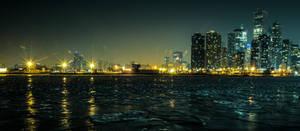 Skyline From Navy Pier