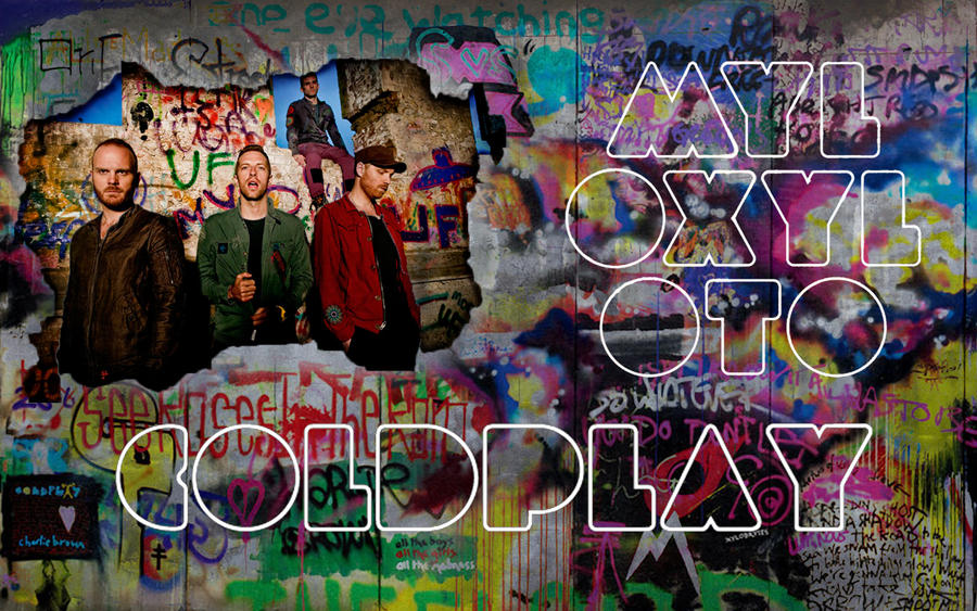 Coldplay artwork mylo xyloto