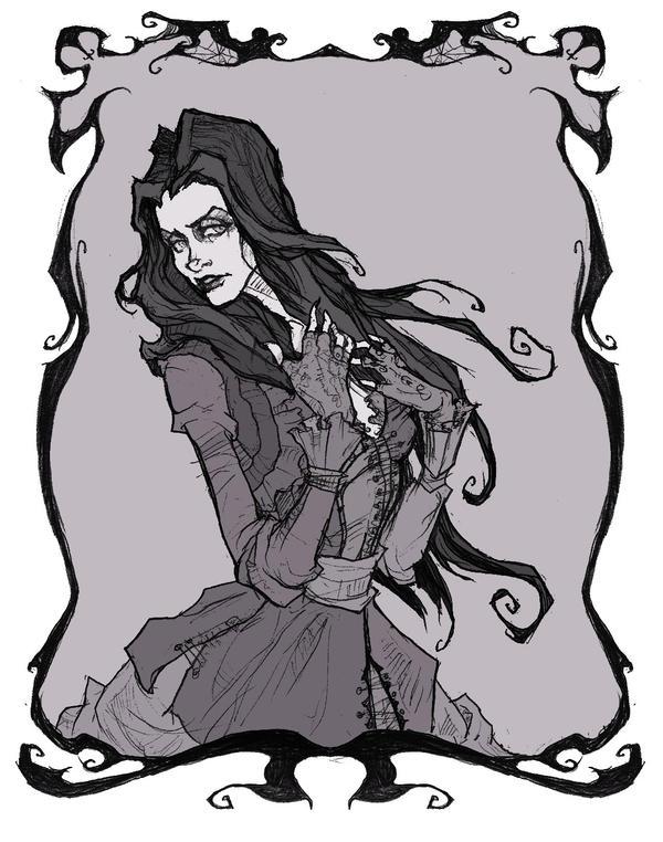 Bellatrix Lestrange by AbigailLarson