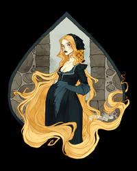 Rapunzel by AbigailLarson