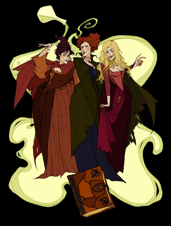Just a Bunch of Hocus Pocus by AbigailLarson