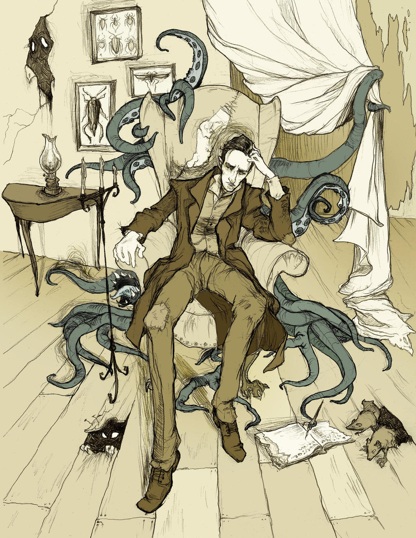 H.P. Lovecraft by AbigailLarson