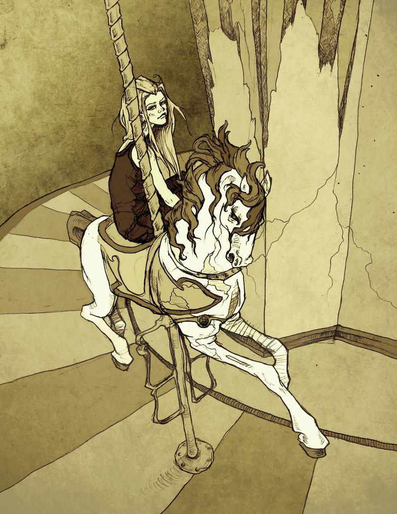 Kaye's Carousel by AbigailLarson