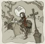 Amarantha in the Graveyard