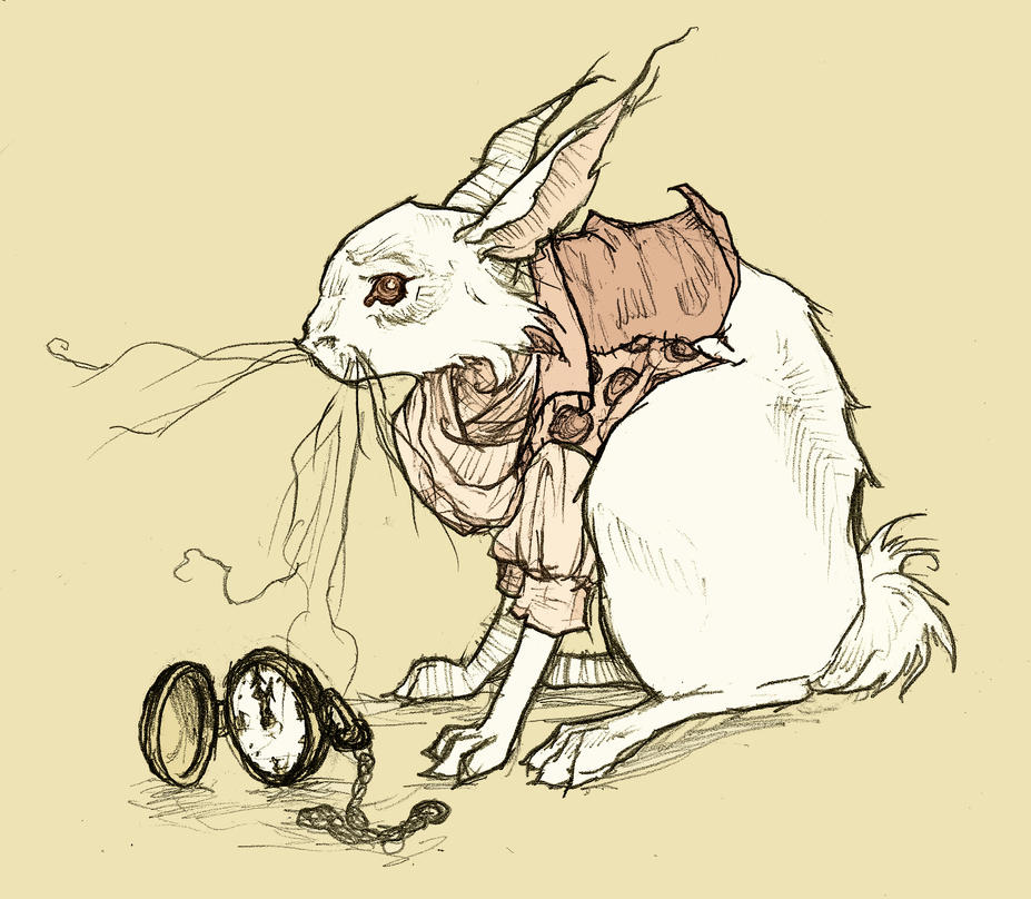 The White Rabbit: Revised by AbigailLarson on DeviantArt