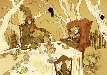 A Mad Tea Party by AbigailLarson