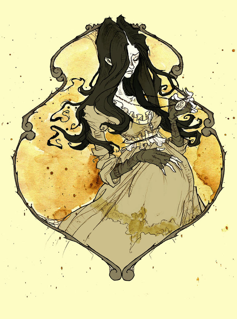 Miss Gaunt by AbigailLarson