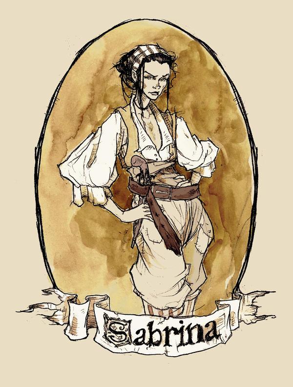 Noble Pirates - Sabrina by AbigailLarson