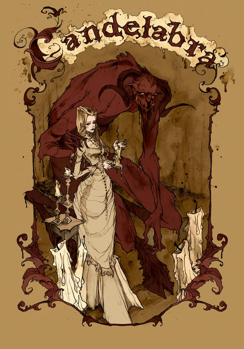 Candelabra 1 by AbigailLarson