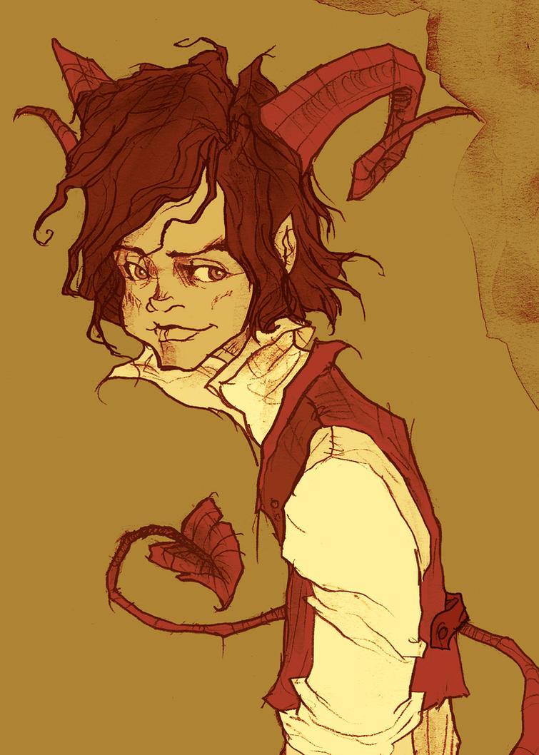Dominic the Demon by AbigailLarson