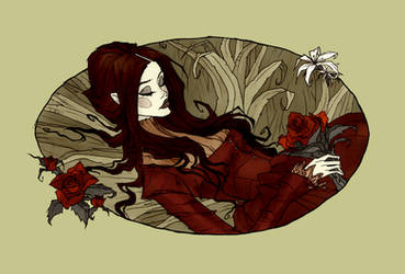 The Death of Ophelia by AbigailLarson